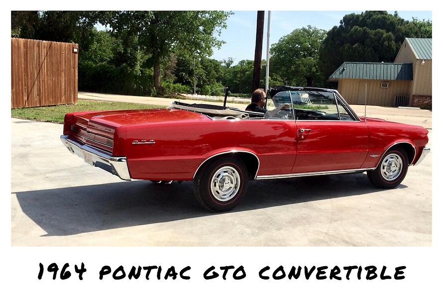 1964 Pontiac GTO Convertible | Sold