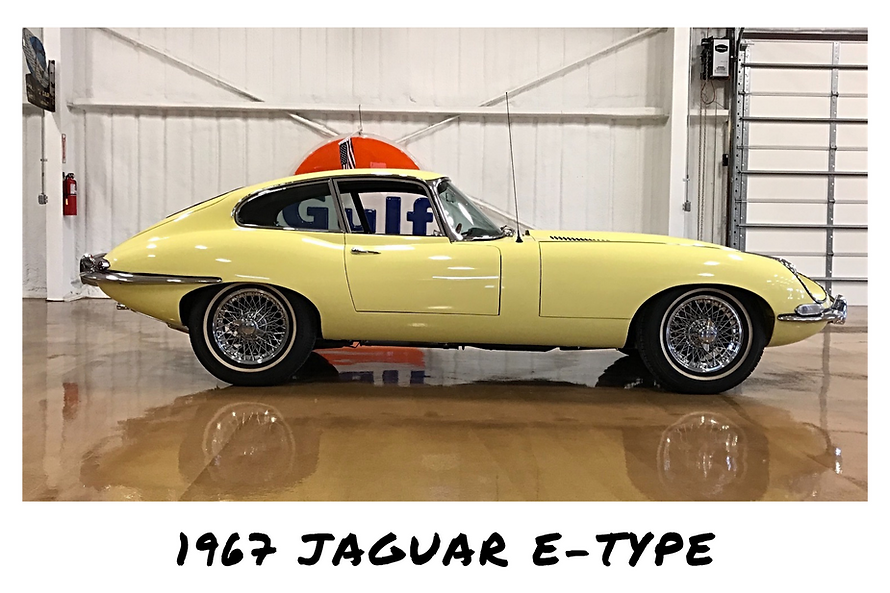 1967 Jaguar E-Type Series 1 Fixed Head Coupe | Sold
