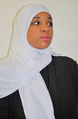 White Light weight maxi jersey hijab