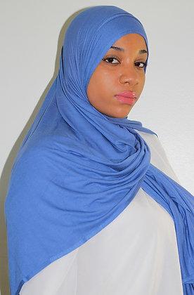 Azure Light Weight Jersey Hijab