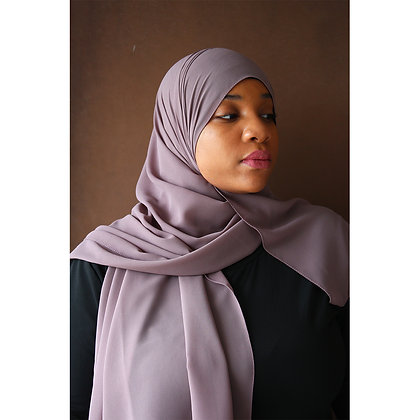 Smokey Gray Premium Luxury Chiffon Hijab