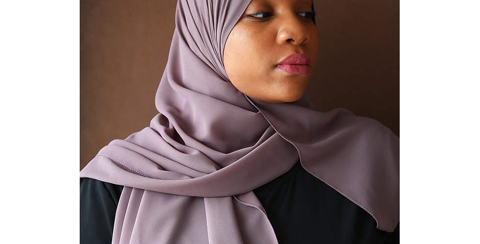 Smokey Gray Premium Luxury Chiffon Hijab