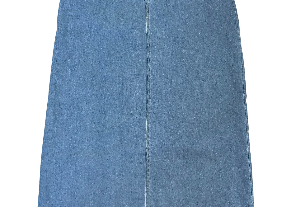 Denim Sky Blue Skirt