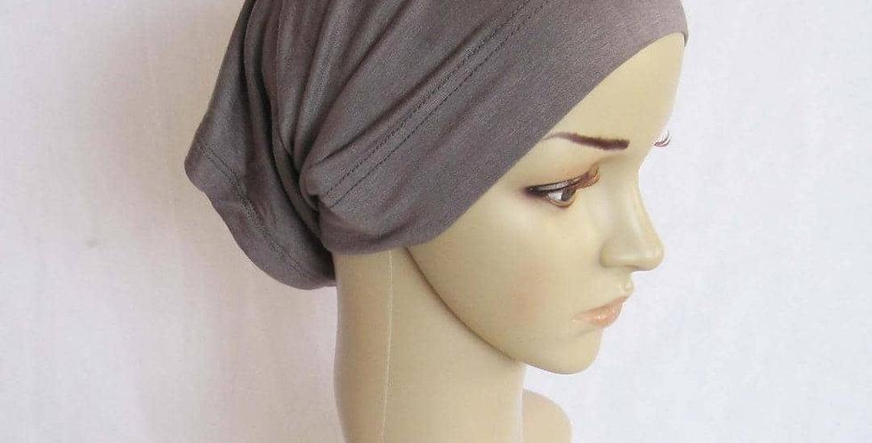 Gray Hijab Tube Inner Cap
