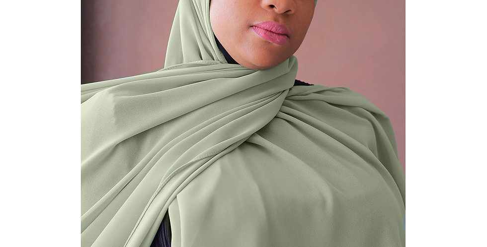 Minty Premium Luxury Chiffon Hijab