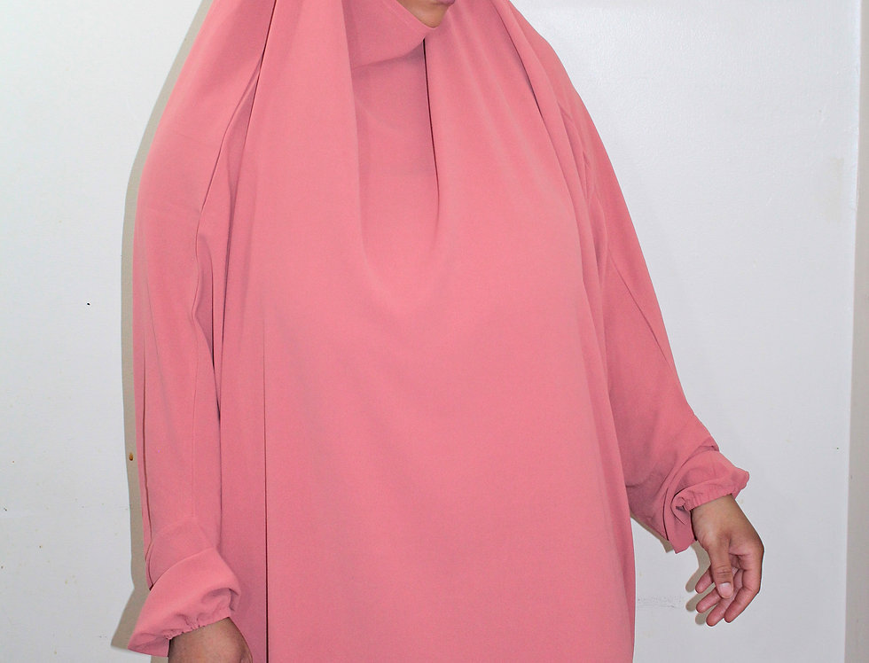 Pink Jilbab