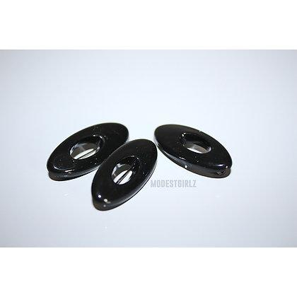 HIJAB PINS - Black No Snag Pins