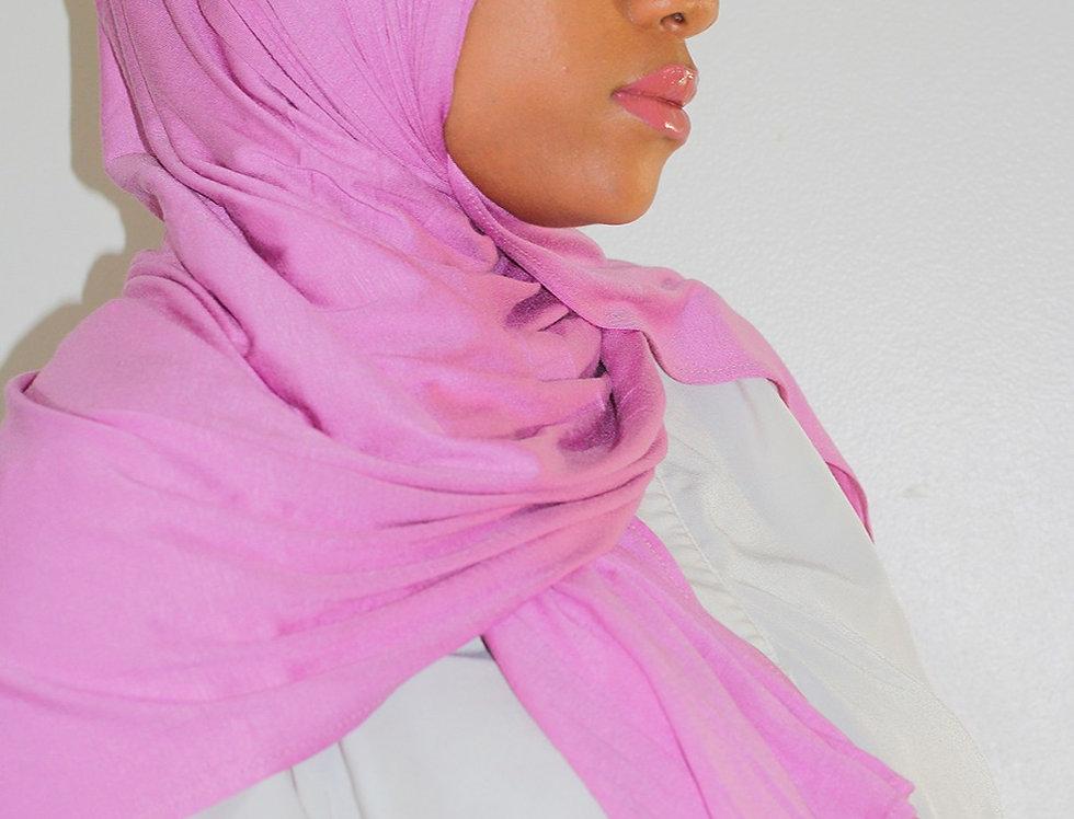 Pink Light Weight Jersey Hijab