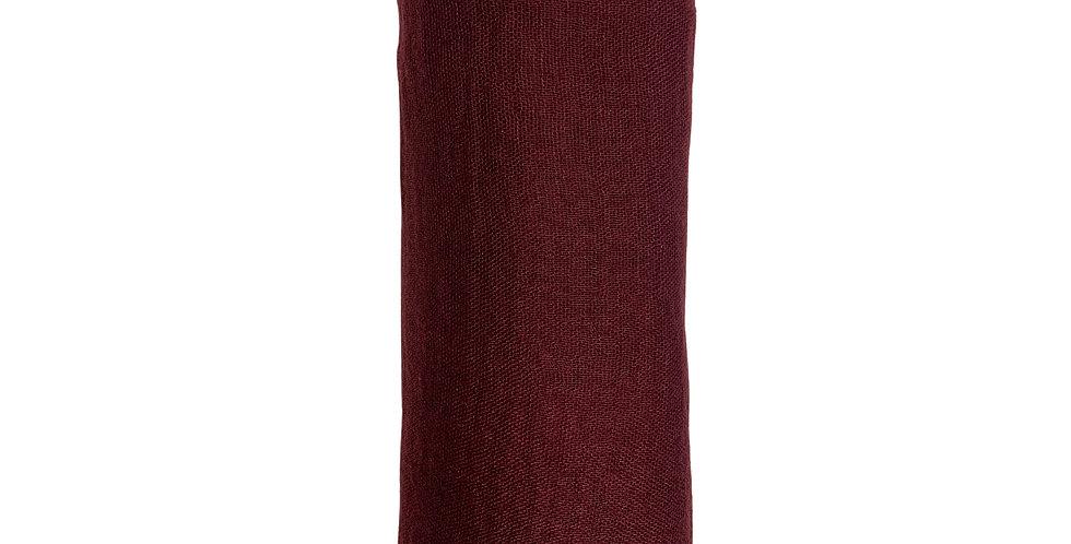 Dusty Wine premium crinkle hijab