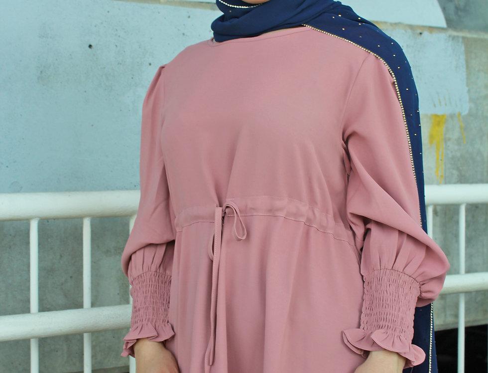 Pink Luxury Chiffon Blouse