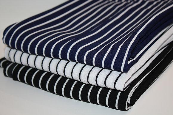 Striped 3 piece Hijab Bundle
