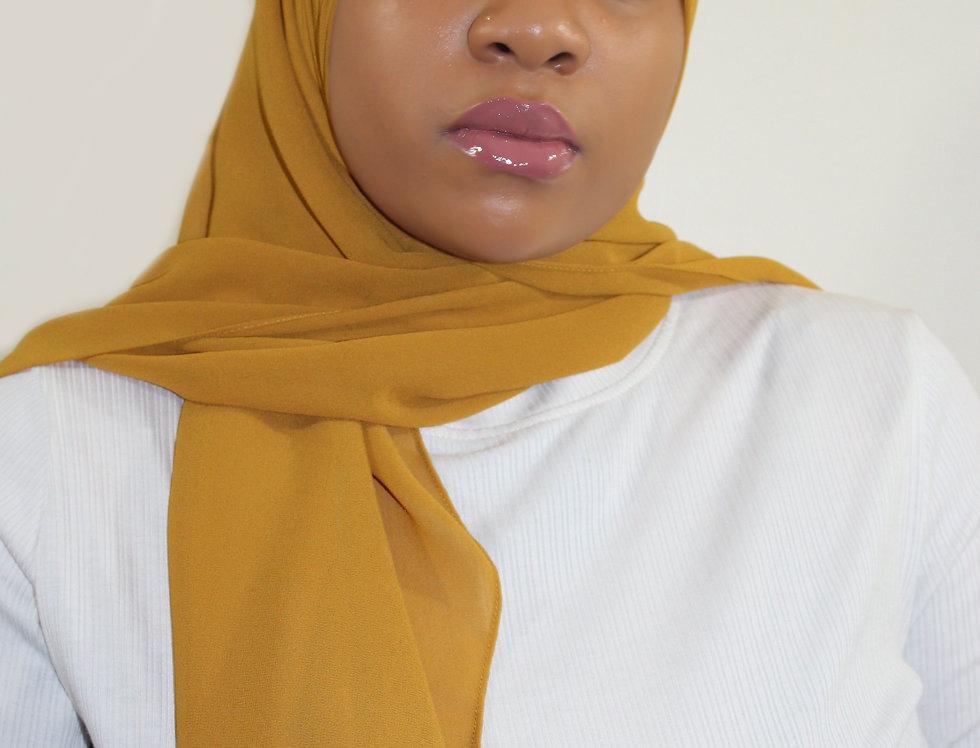 Tuscan Gold Premium Luxury Chiffon Hijab