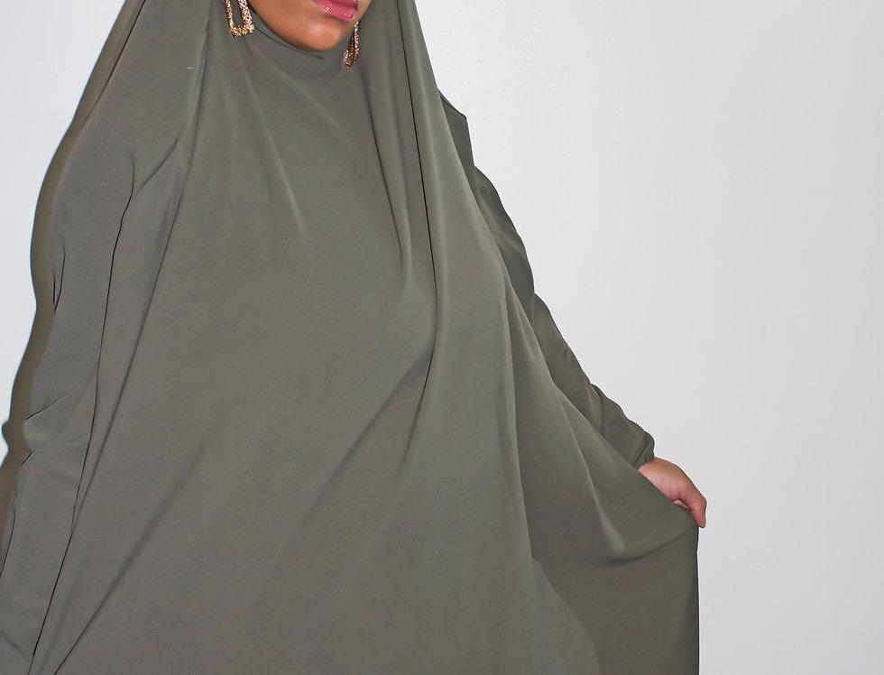 Olive Jilbab
