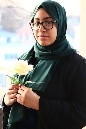 Pine Green Luxury Chiffon Hijab