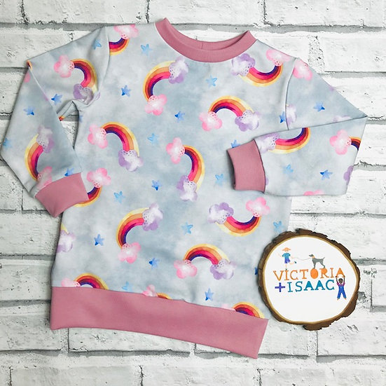 Pastel Rainbows  Jumper