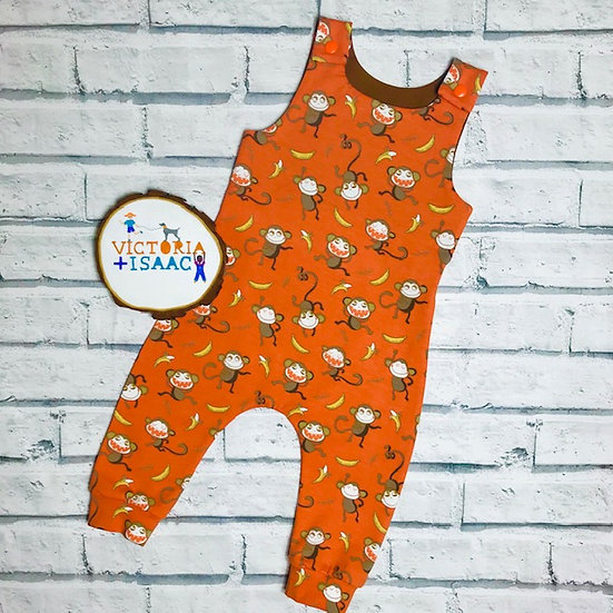 Funny Monkeys Dungarees