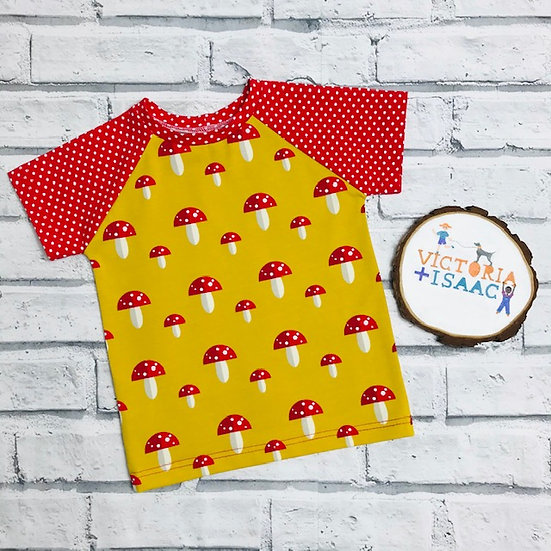 Toadstools Short Sleeve T-Shirt