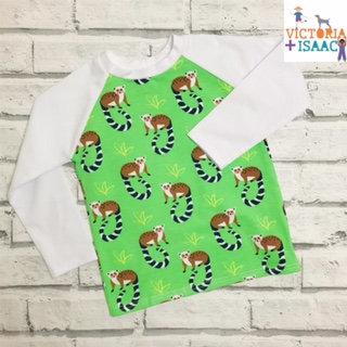 Lemurs Baseball-Style T-Shirt