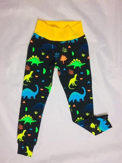 Neon Dinos Leggings
