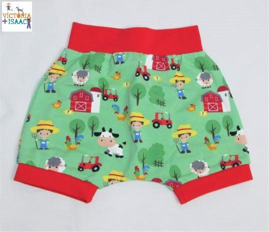 Farmyard Harem Shorts, 9-12m