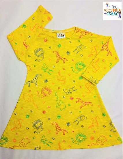 Safari Animals T-shirt Dress