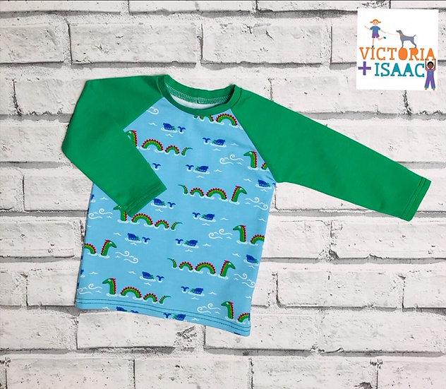 Nessie Baseball-Style T-Shirt