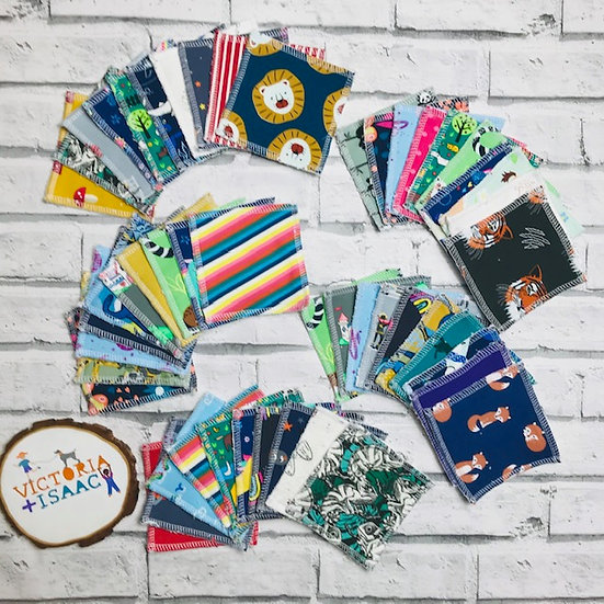 Lucky Dip Cloth Wipes - set of 10