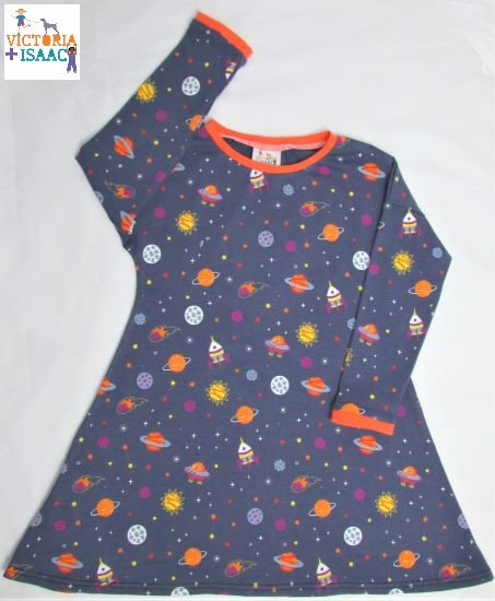 Space T-shirt Dress