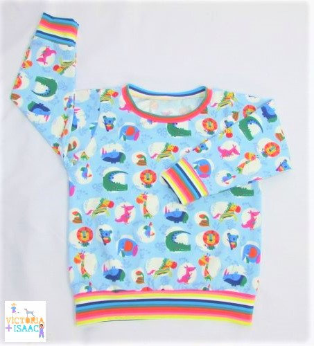 Rainbow Animals Jumper