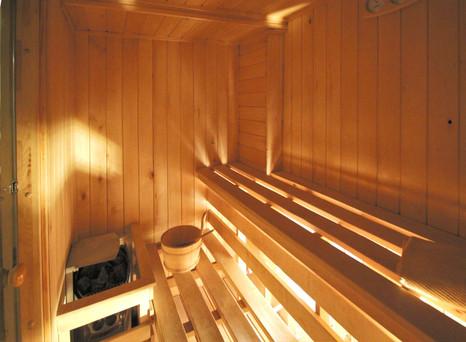 sauna  przy pokoju 10