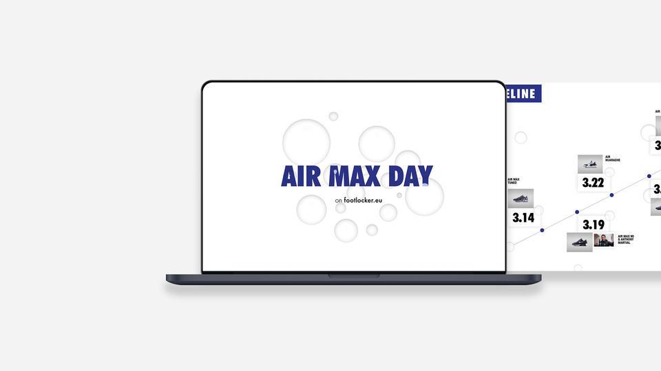 Nike Air Max Day Interactive Web Page