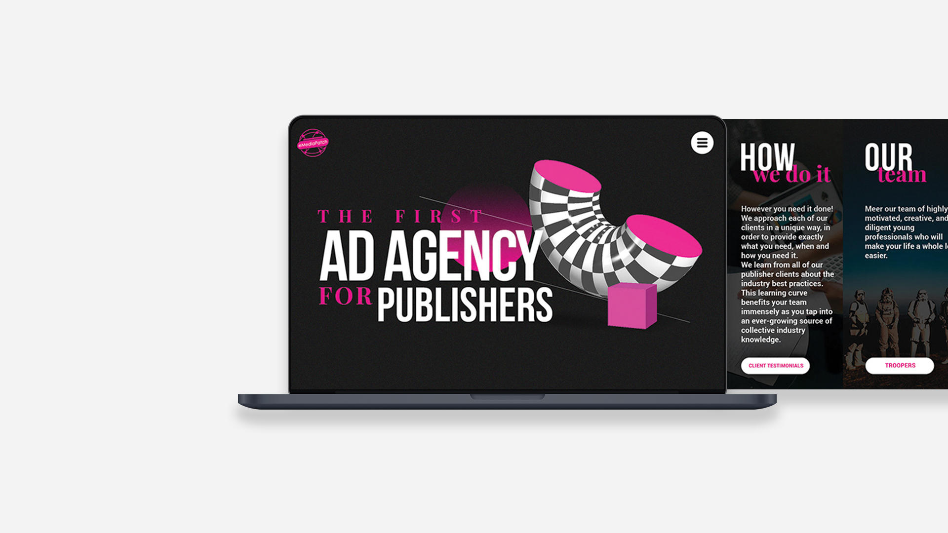 eMedia Patch - Ad agency for publishers