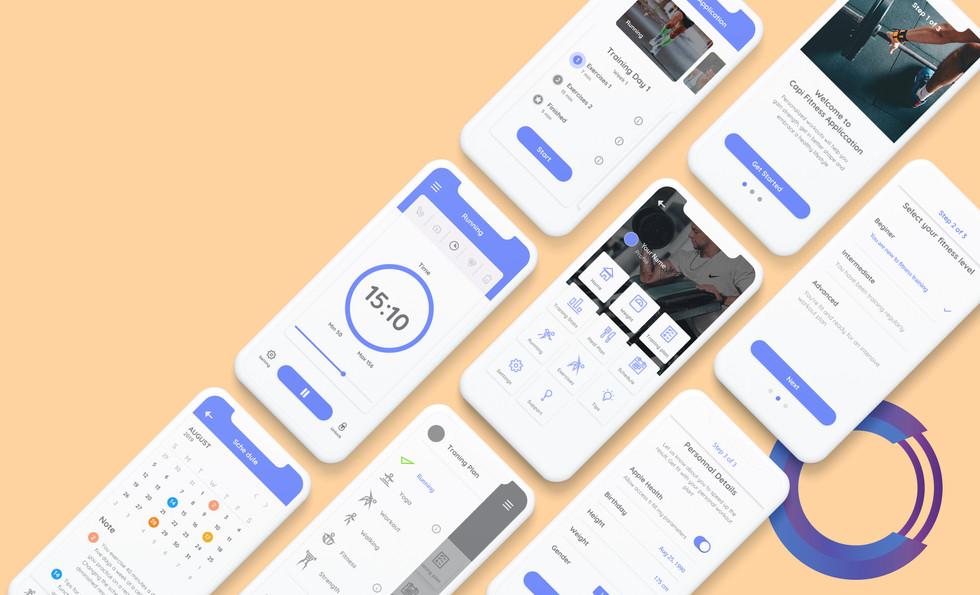 Capi Fitness Studio App