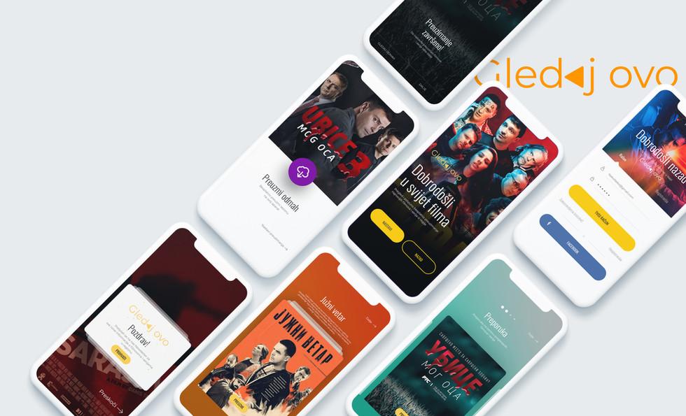Gledaj Ovo App Design