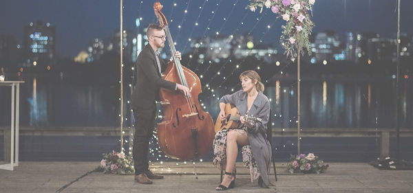 Perfect birthday present, give the gift of music, the sweetest live music duo