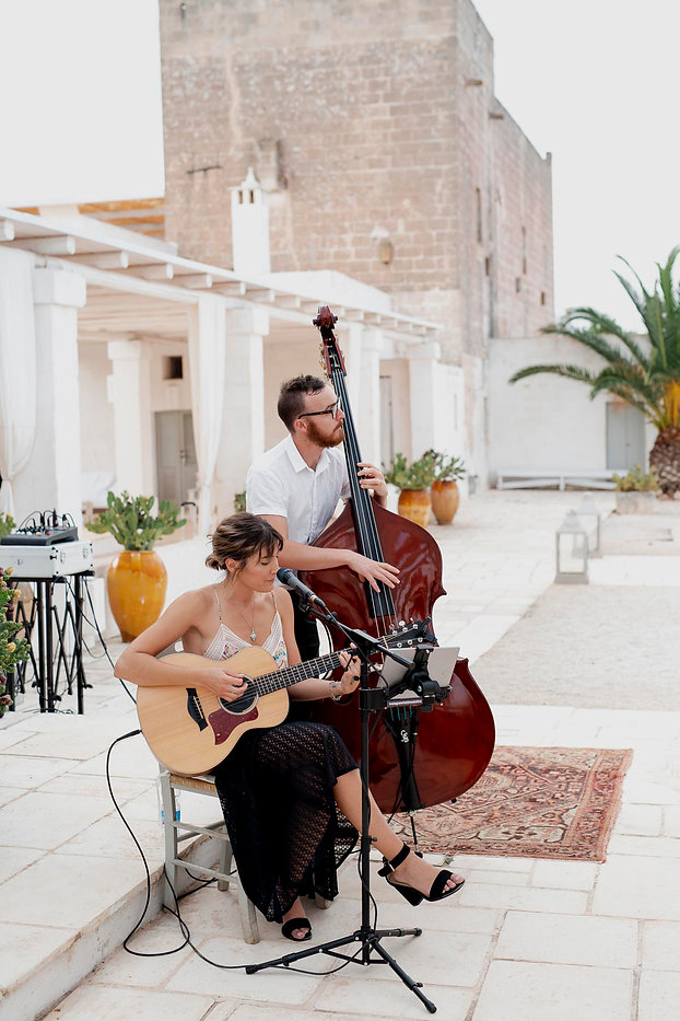 Masseria Potenti - Destination wedding, wedding band