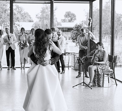Stones of the Yarra Valley wedding, wedding music, first dance