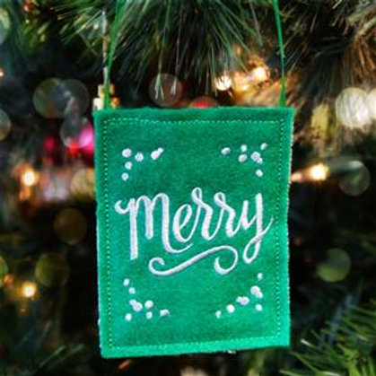 Gift Card Bag - Merry