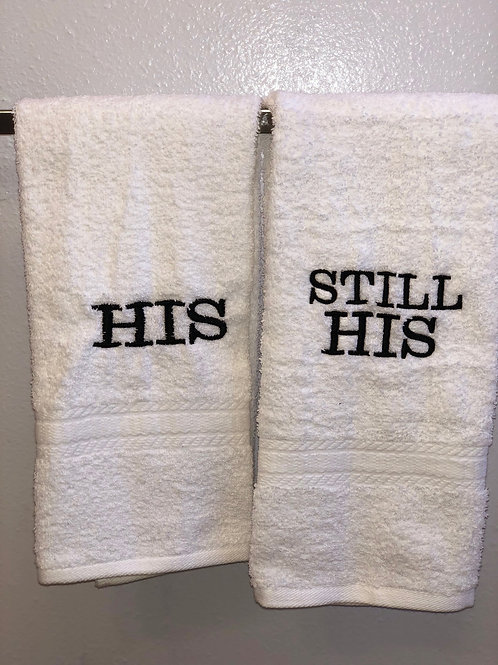 His/Still His Towel