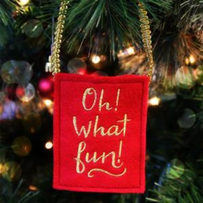 Gift Card Bag - Oh What Fun!