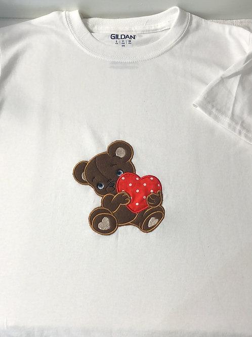 Teddy Bear Heart Shirt