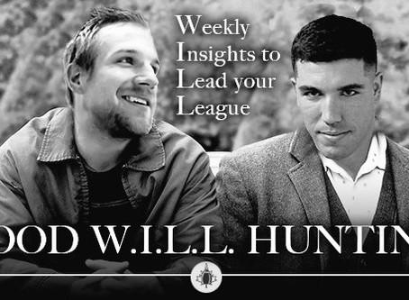 Good W.I.L.L Hunting - Week 3 Waiver Wire