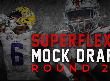 Round 2 - Superflex Rookie Mock Draft