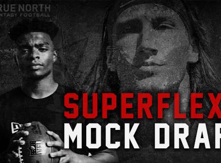 2021 SUPERFLEX ROOKIE MOCK DRAFT