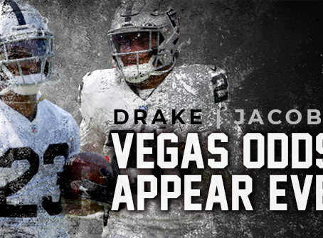 Josh Jacobs vs Kenyan Drake: Could the Vegas Odds Be Even?