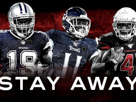 PLAYERS YOU SHOULD STAY AWAY FROM - 2020