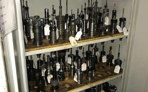 Stored Tooling