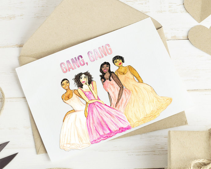 Gang, Gang Gal-entine's Day Card