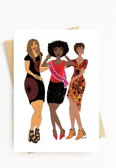 Black Girl Magic Birthday Card