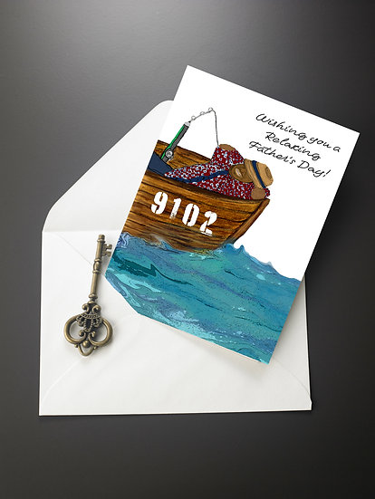 Have a Relaxing Father's Day Card